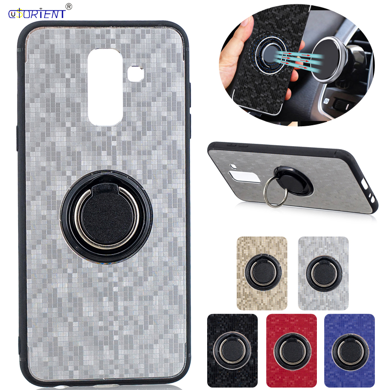 J8 2018 Armor Cover For Samsung Galaxy J8 2018 Magnetic Car Holder Case SM J810F J810F/DS J810G/DS J810M/DS J810Y Bumper Cases