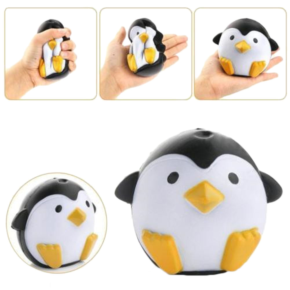 2018 New Arrival Slow Rebound Squishy Penguin Kid Toy Doll Gift Fun