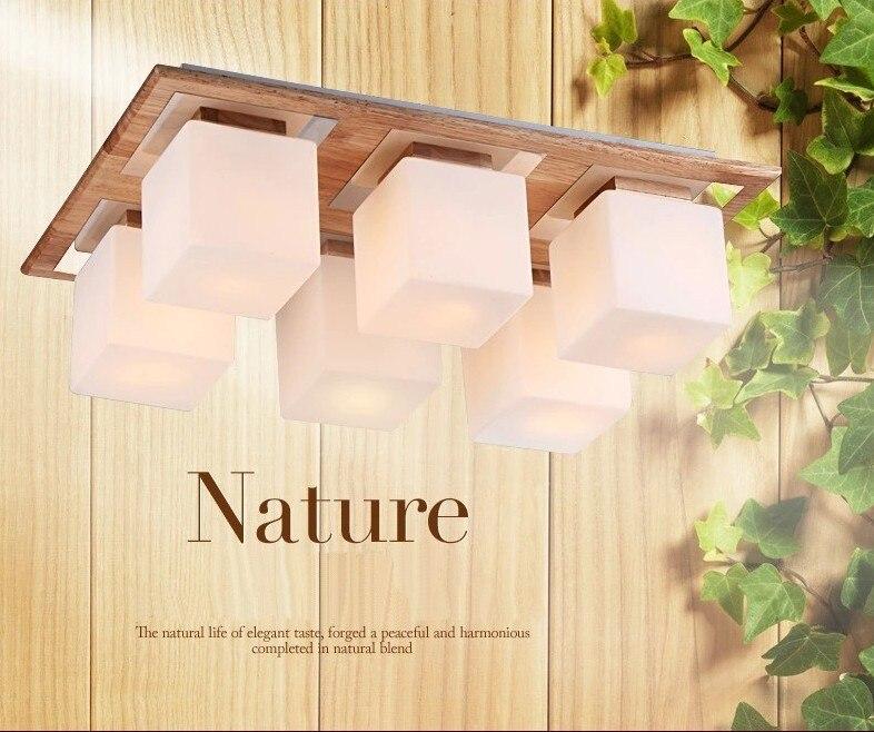 accesorio de la lmpara de techo modernas lmparas de techo de madera para sala de estar