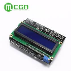 ЖК-дисплей клавиатура Щит ЖК-дисплей 1602 ЖК-дисплей 1602 Модуль Дисплей для ATMEGA328 ATMEGA2560 raspberry pi ООН синий экран