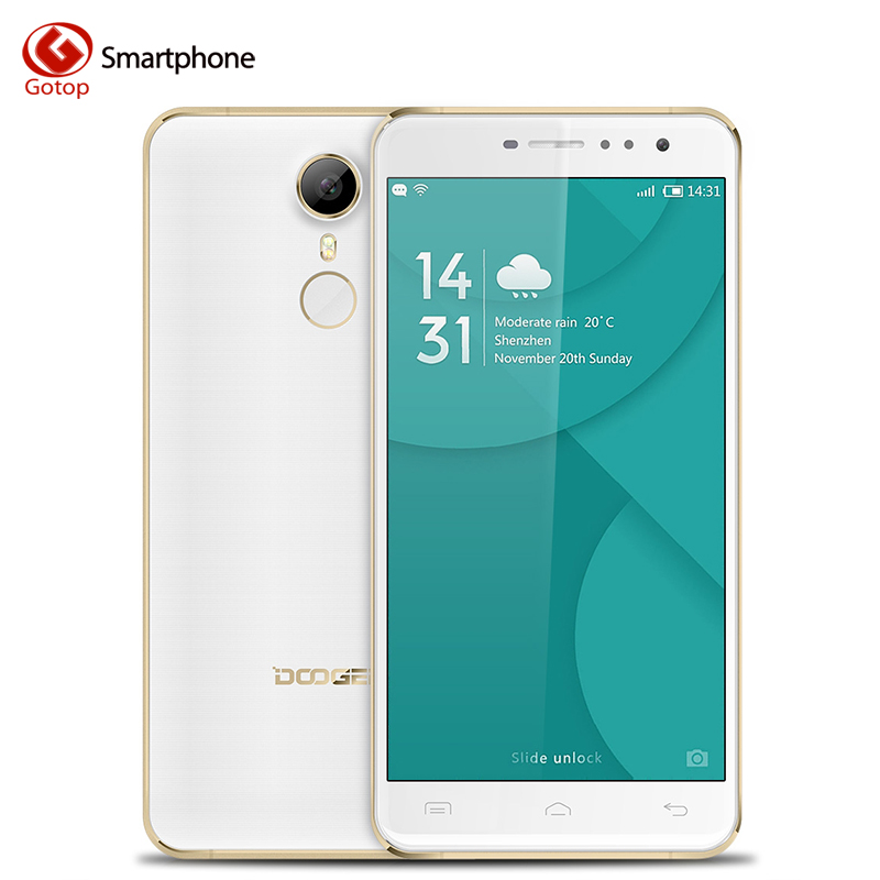Original Doogee F7 Pro Android 6.0 MTK6797 Deca Core Smartphone 5.7 Inch 4GB RAM 32GB ROM Mobile Phone 4000mAH 4G LTE Cell Phone