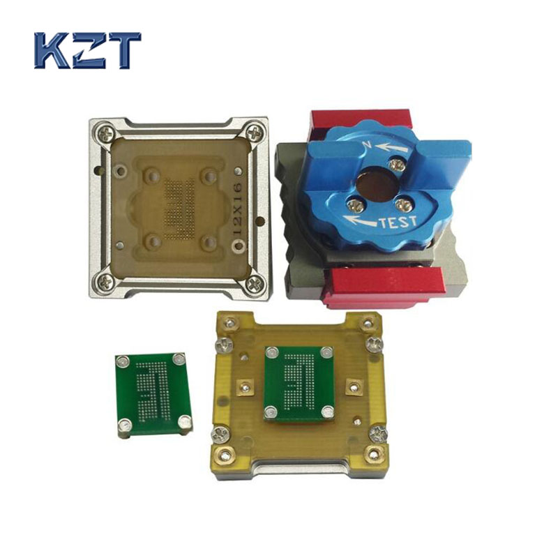 Analysis EMCP162 BGA186 high stable socket for IC design R&D test in Lab,research center and UFS series test analysis transform pcb board emmc analysis assay plates for test device transforming signal out to the ic in socket