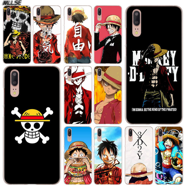 One Piece Monkey D Luffy Case Cover for Huawei Models
