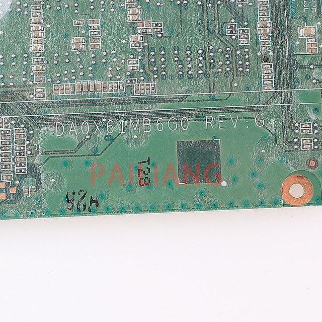 PAILIANG laptopa płyta główna do HP 430 G3 440 G3 I5-6200U PC płyty głównej płyta główna 830937-001 830937-601 DA0X61MB6G0 tesed DDR3