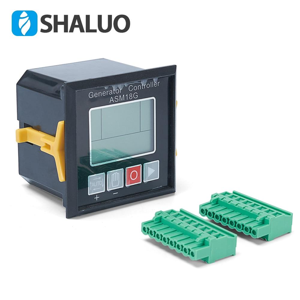 Generator Controller diesel genset parts ASM18G automatic start power alternator electronic monitor board pannel control module