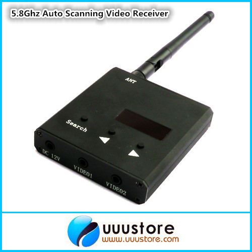 Boscam RC32S  5 8G  32CH Wireless Video Audio AUTO SCAN FPV AV Receiver  Rx boscam fpv 5 8g wireless audio video receiver receiving module rx5808