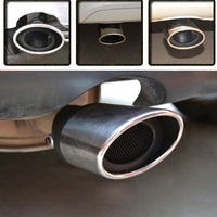 Car Styling Car Exhaust Pipe Tail Pipes For Toyota Camry Corolla Yaris Highlander Land Cruiser PRADO