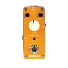 Aroma ADL-3 Mini Delay Electric Guitar Effect Pedal with Fastener Tape Aluminum Alloy Housing True Bypass цены