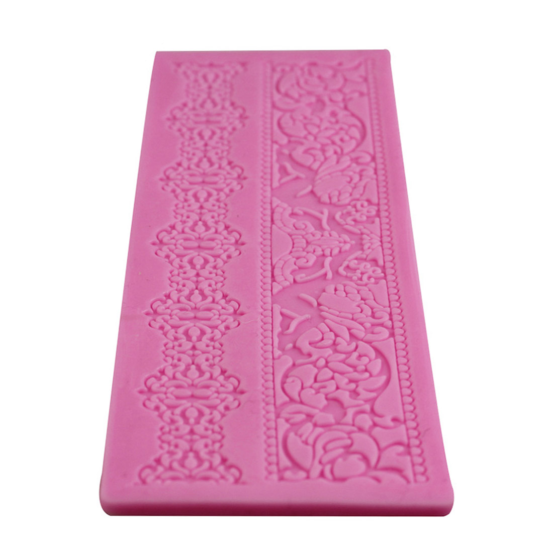 Bake Emboss Mat Mould Craft 1 Pcs Lace Silicone Fondant Embossing Mold Cake Gum Paste Decorating DIY Mould Hot Sales
