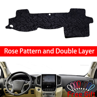 Rose Pattern For Toyota LAND CRUISER 2007 2008 2009 2010 2011 2016 Car Stickers Car Decoration Car Accessories Car Decals