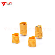 10 set/partij Vergaren MT60 3.5mm Motor Plug/Connector Set voor RC FPV Multicopter Vliegtuig 10 set(China)