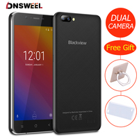 New Blackview A7 Smartphone Android 7 0 MTK6580 Quad Core 5 0inch IPS HD Mobile Phone