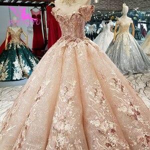 Image 3 - AIJINGYU suknie ślubne sklep internetowy kup suknie ślubne 2021 2020 sklep muzułmanin matka suknia ślubna biała sukienka balowa