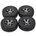 4Pcs AUSTAR AX-3020A 1.9 Inch 103mm 1/10 Scale Tires with Wheel Rim for 1/10 D90 SCX10 CC01 RC Rock Crawler Parts