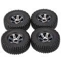 4Pcs AUSTAR AX-3020A 1.9 Inch 103mm 1/10 Scale Tires with Wheel Rim for 1/10 D90 SCX10 CC01 RC Rock Crawler Parts
