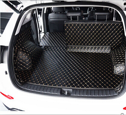 Good quality Special trunk mats for Hyundai Creta 2018-2014 waterproof boot carpets cargo liner for Creta 2016 styling