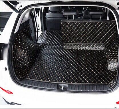 Высококачественные специальные коврики для багажника Hyundai Creta 2018-2014, водонепроницаемые ковровые покрытия для обуви, подкладка груза для ста...