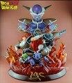 FÃS MODELO MRC Dragon Ball Z 48 cm Frieza e Gi'nyu Forças Especiais resina GK action figure toy para Coleta