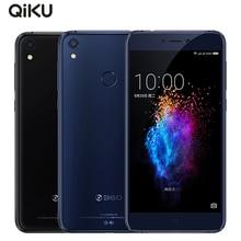 Оригинальный qiku 360 N5s сотовый телефон 5.5 дюймов 6 ГБ Оперативная память 64 ГБ Встроенная память Snapdragon 653 Octa Core Dual Фронтальная камера 3730 мАч 4 г LTE смартфон