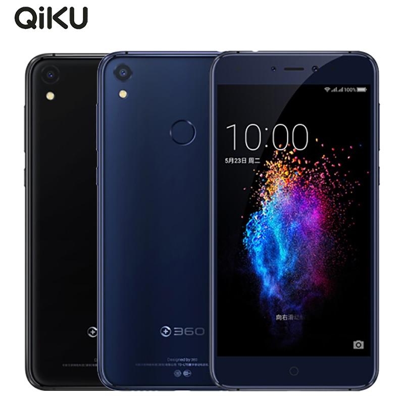 Original Qiku 360 N5s Cell Phone 5.5 inch 6GB RAM 64GB ROM Snapdragon 653 Octa Core Dual Front Camera 3730 mAh 4G LTE Smartphone