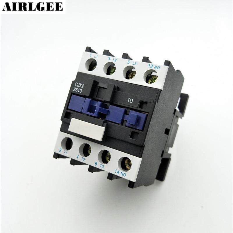 цена на CJX2-2510 660V 40A 3 Poles 3P NO DIN Rail AC Contactor 24V Coil