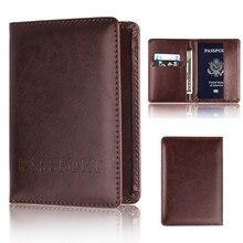 Чехол из искусственной кожи для паспорта, защитный бумажник для визиток, мягкий чехол для паспорта#30
