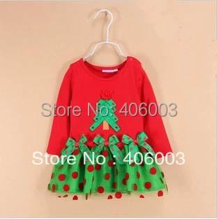 928ffdf7ab84b Wholesale Kids Baby Christmas Dress Child Short Sleeve Clothing ...