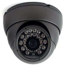 2MP 4-in-1 HD (TVI/AHD/CVI/960H) 1080P 720P Outdoor SONY Sensor Wide Angle 3.6mm Fixed Lens Turbo Platinum Dome Camera