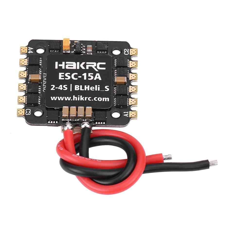 15A 4 в 1 мини электронный регулятор скорости Поддержка 2-4 s LiPo/HV LiPo батарея FPV ESC высоко радиоуправляемая принадлежность для FPV Дрон