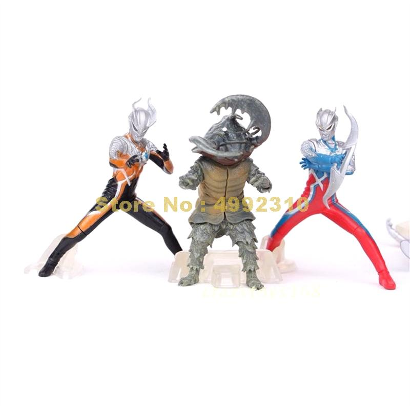 Image 4 - 5pcs/set ultraman monster super man vs monster the 5th pvc action figure collection model toy 10~12cm ToyAction & Toy Figures   -