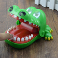 New 1pcs Large Crocodile Mouth Dentist Bite Finger Game Funny Toy Gift,can for Bar Games Toys