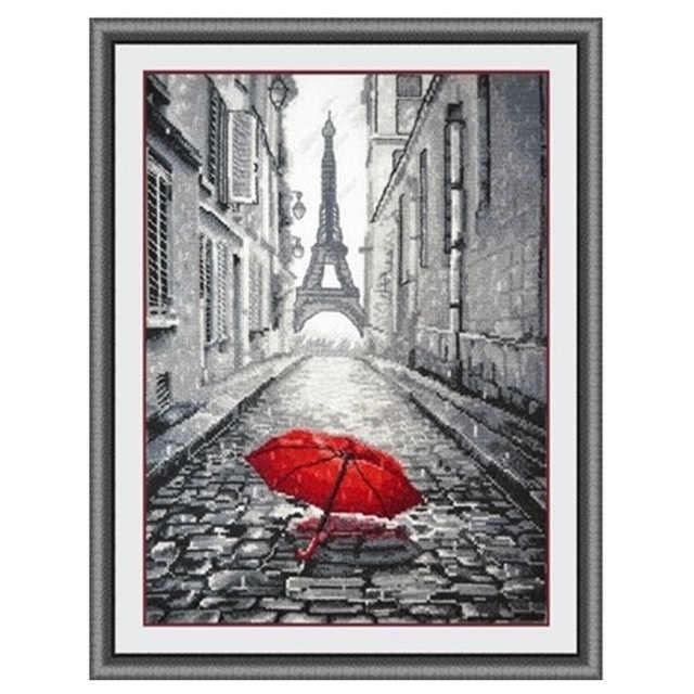 14/16/18/27/28 โรแมนติกปารีสรูปแบบ Counted Cross Stitch ชุดขายส่ง Cross -ชุดตะเข็บเย็บปักถักร้อย 4th
