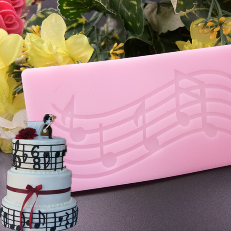 Diy Home Bar: 3D Silicone Mold Musical Note Shape Cake Decorating