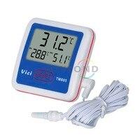 T012 TM805 Large LCD Display Fridge Refrigerator Freezer Digital Alarm Temperature Thermometer Meter FREE SHIPPING