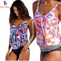 Ariel Sarah Top Brazilian Bikini 2017 Plus Size Swimwear Women African Print Swimsuit Bathing Suit Women
