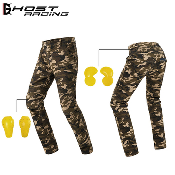 GHOST RACING Motorcycle casual pants riding jeans pantalon motocross rider racing pants street spodnie motocyklowe