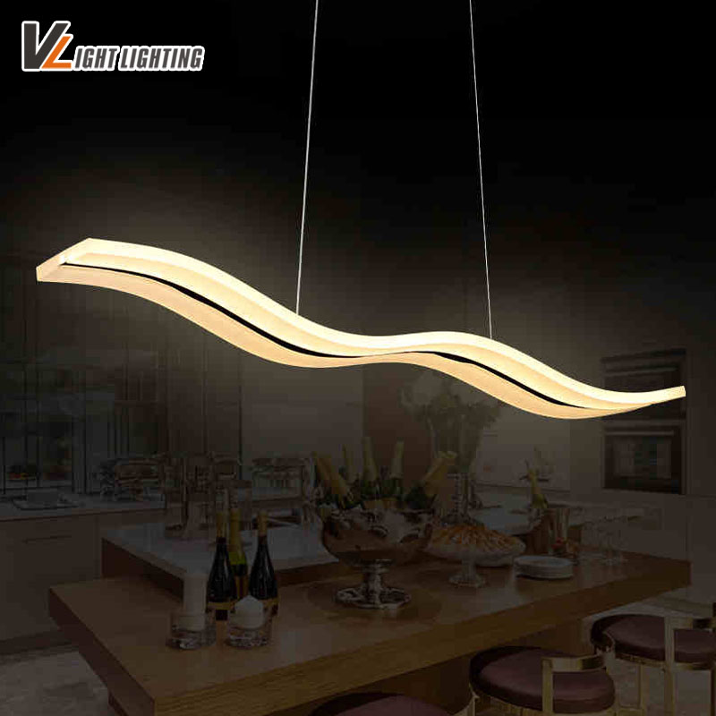 LED modern pendant lights for living room dinning room kitchen light AC85-260V Acrylic luminaire lamparas pendant lamps