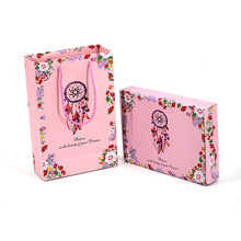 Dreamcatcher special gift box pink bag printing corrugated shopping