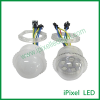 IP66 waterproof 35mm transparent or milky cover rgb smd 5050 led point light