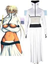 Envío Libre Bleach Tear Halibel Blanco Kimono Anime Cosplay Costume