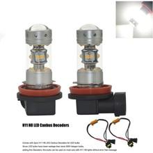 2 Pz H11 H8 CANBUS FREE Error Bianco Cree Chip 28 leds 140 W LED Luce di nebbia DRL Lampadina Luci di Circolazione Diurne Per FORD MONDEO MK3 MK4
