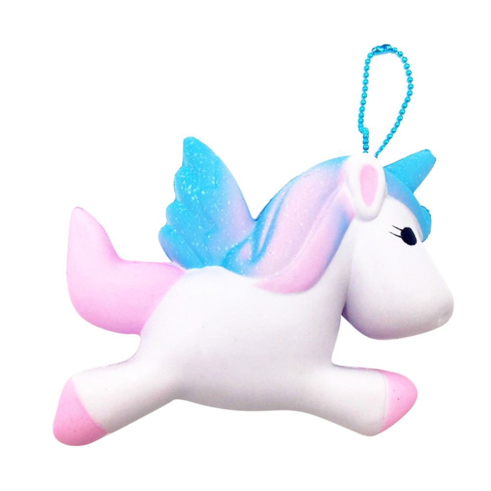 Cute Gift Exquisite Fun Squishy Unicorn Scented Charm Slow Rising 11cm Simulation Toy Squish Antistres 28S7919 drop shipping