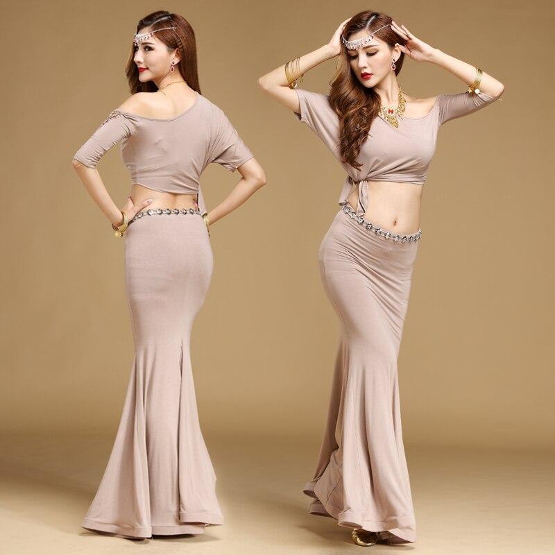 2017 bombažni Bellydance kostum trebušno plesno krilo Novo vroče - Odrska in plesna oblačila