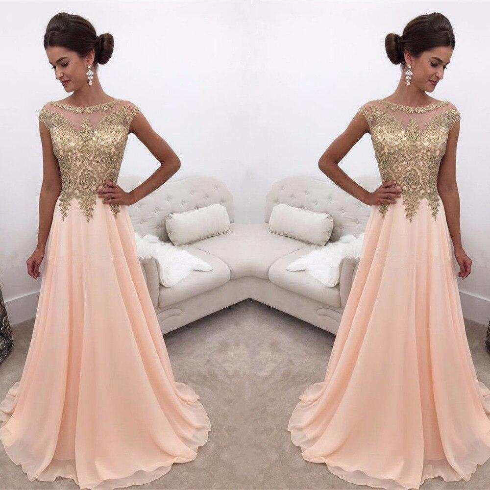 Modest Lace Chiffon   Prom     Dresses   2019 vestidos de fiesta largos elegantes de gala A Line Special Occasion   Dress   Party Gowns