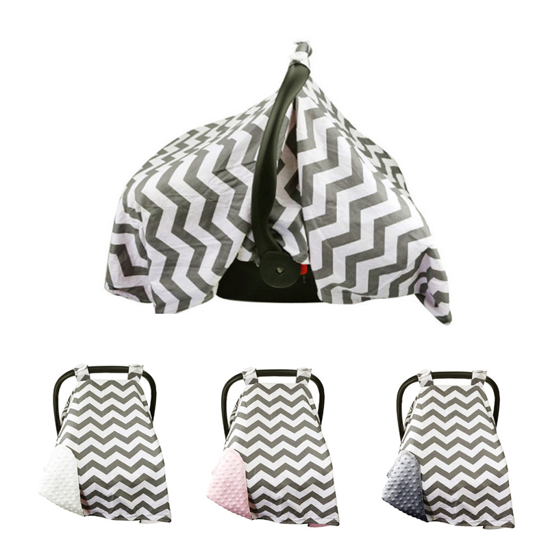 Baby Car Seat Canopy Cover Infant Children Carseat Cover Canopies