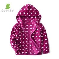 SVELTE For 2 9 Y Kids Girls Fleece Hooded Jacket Boys Spring Casual Sport Hoody Coat