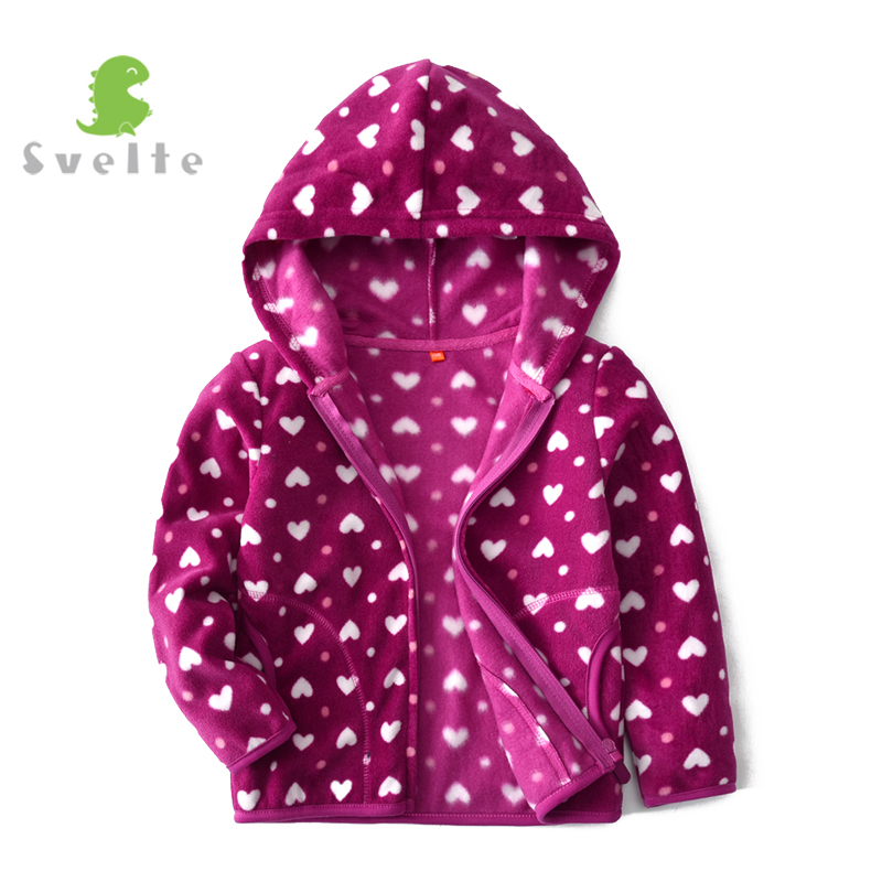 Svelte/для 2-9 лет дети Обувь для девочек флисовая куртка с капюшоном Обувь для мальчиков весна Повседневное спортивные пальто с капюшоном верх...