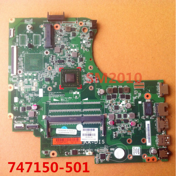 747150 501 for HP 15 Notebook PC TouchSmart 15 Series