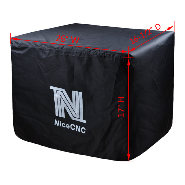nicecnc small weather resistant portable generator cover dust guard