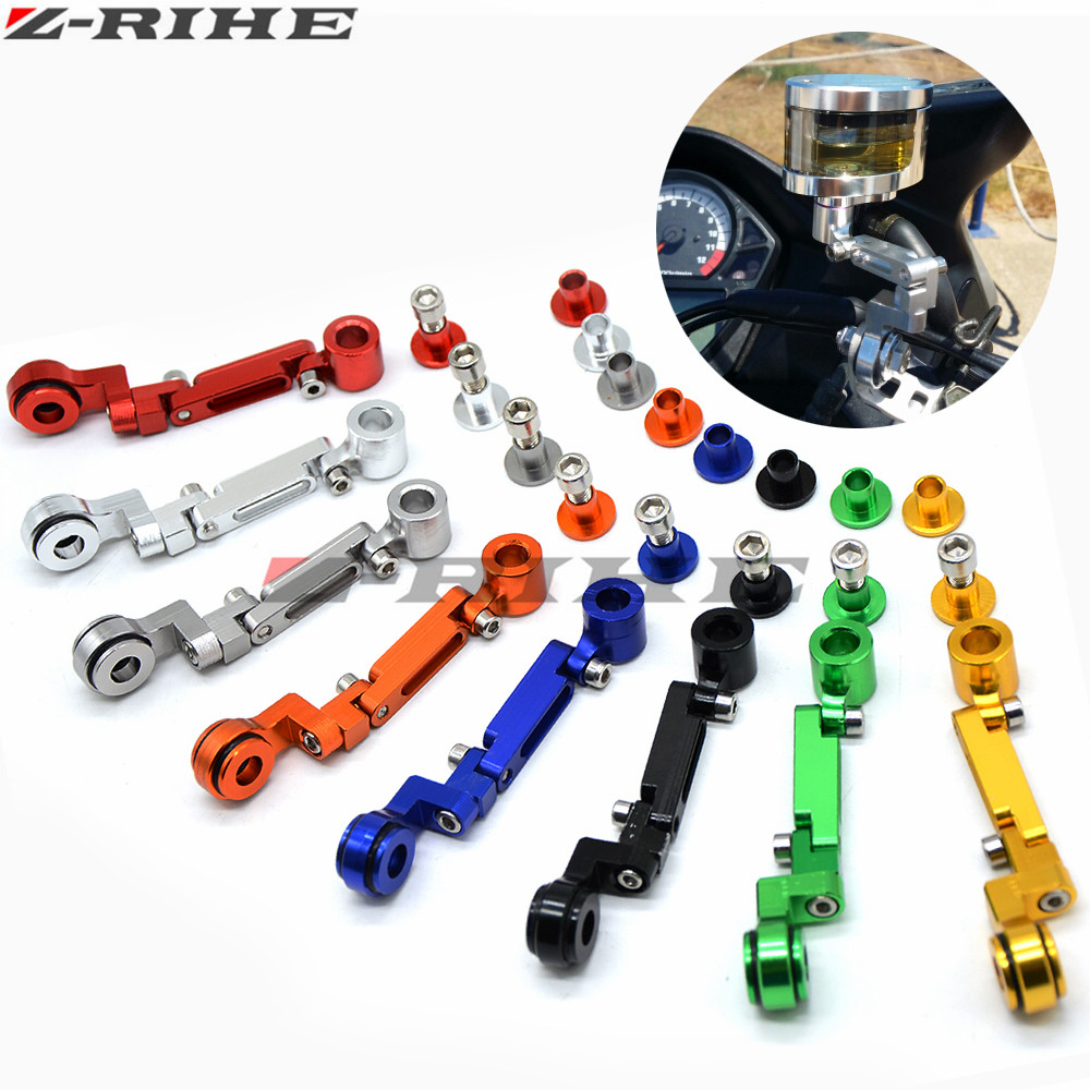 CNC Brake Clutch Master Cylinder Fluid Reservoir Tank stents Oil Cup Motorcycle For YAMAHA R1 R3 R6 MT-07 MT-09 MT07 MT-07 TMAX universal motorcycle brake fluid reservoir clutch tank oil fluid cup for mt 09 grips yamaha fz1 kawasaki z1000 honda steed bone
